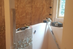 Plainwell Bathroom Remodel Addition - During 4