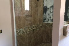 Plainwell Bathroom Remodel Addition - During 7