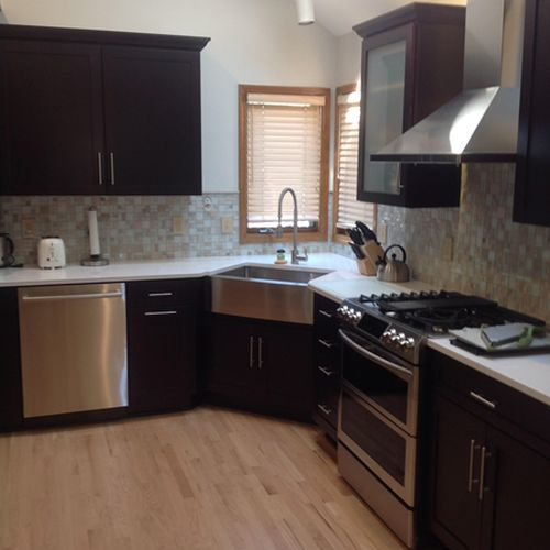 kitchen remodel in lenaxa by shawnee mission builders