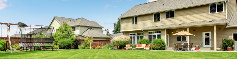 a home that has completed exterior remodeling